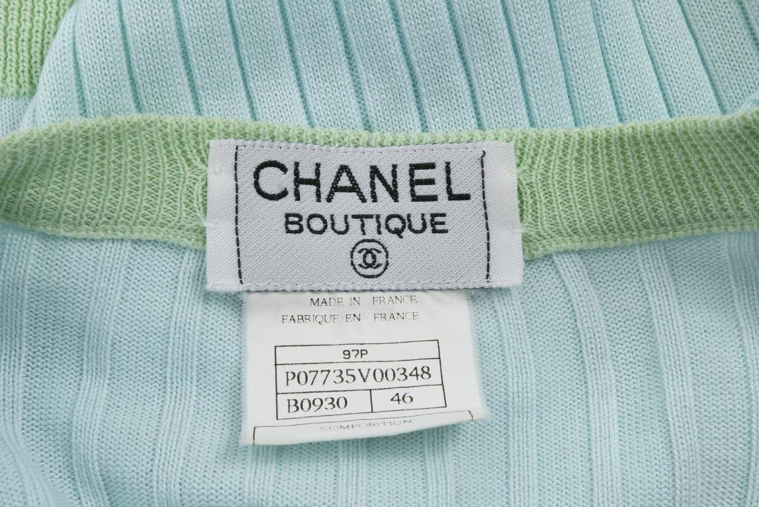 CHANEL BOUTIQUE SWEATER AND MATCHING TOP - 8