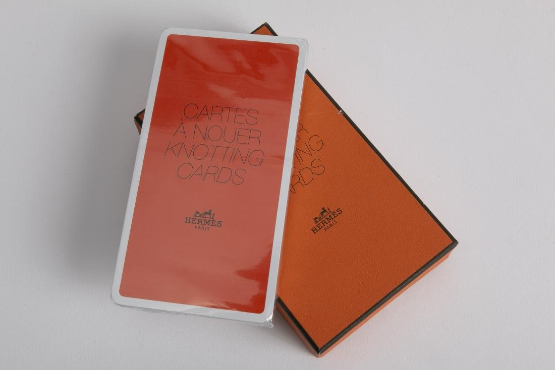 HERMES LE CARRE' BOOKLET & KNOTTING CARDS NEW - 2