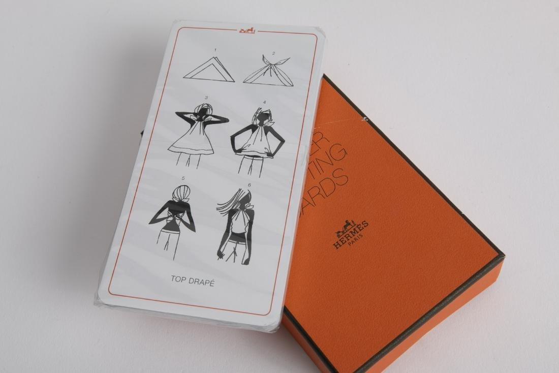 HERMES LE CARRE' BOOKLET & KNOTTING CARDS NEW - 3