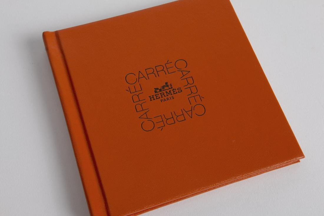 HERMES LE CARRE' BOOKLET & KNOTTING CARDS NEW - 4