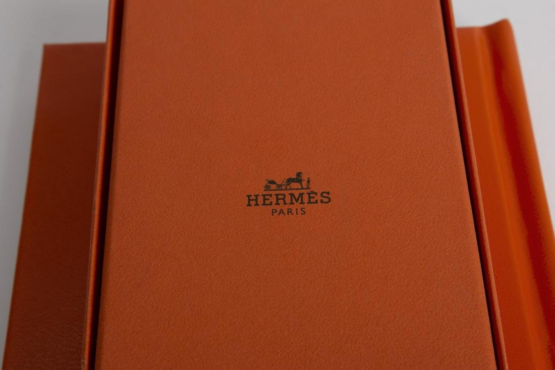 HERMES LE CARRE' BOOKLET & KNOTTING CARDS NEW - 6