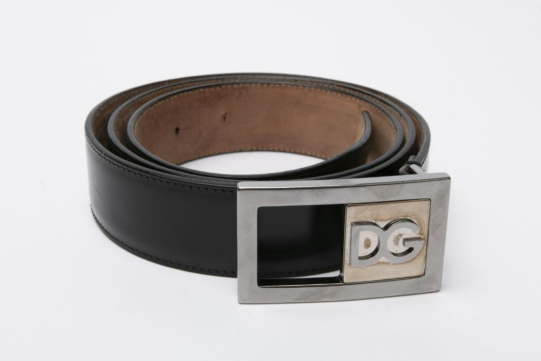 LOT OF MEN'S DESIGNER BELTS / GUCCI / FERRAGAMO - 5