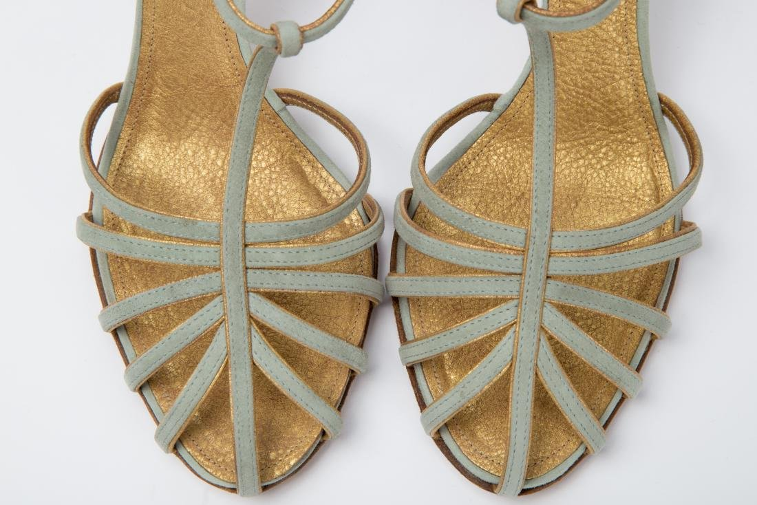 TWO PAIRS OF RALPH LAUREN SANDALS SIZES 9, 9.5 - 2