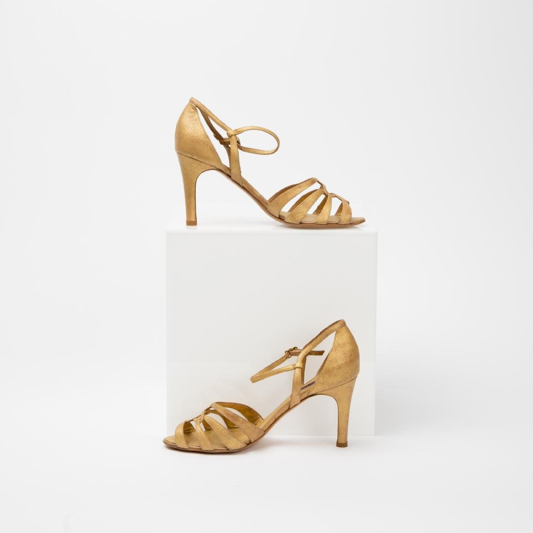 TWO PAIRS OF RALPH LAUREN SANDALS SIZES 9, 9.5 - 8