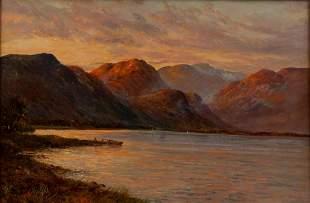 "Graham Williams ""Loch Lomond"" Oil On Canvas"