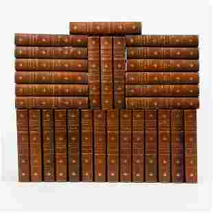 Complete Works of Charles Dickens, 30 Antique Volumes