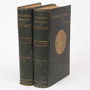 First Edition Personal Memoirs of U.S. Grant
