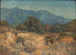 William Arthur Paxton Oil Landscape