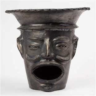 Oaxacan Black Pottery Stove
