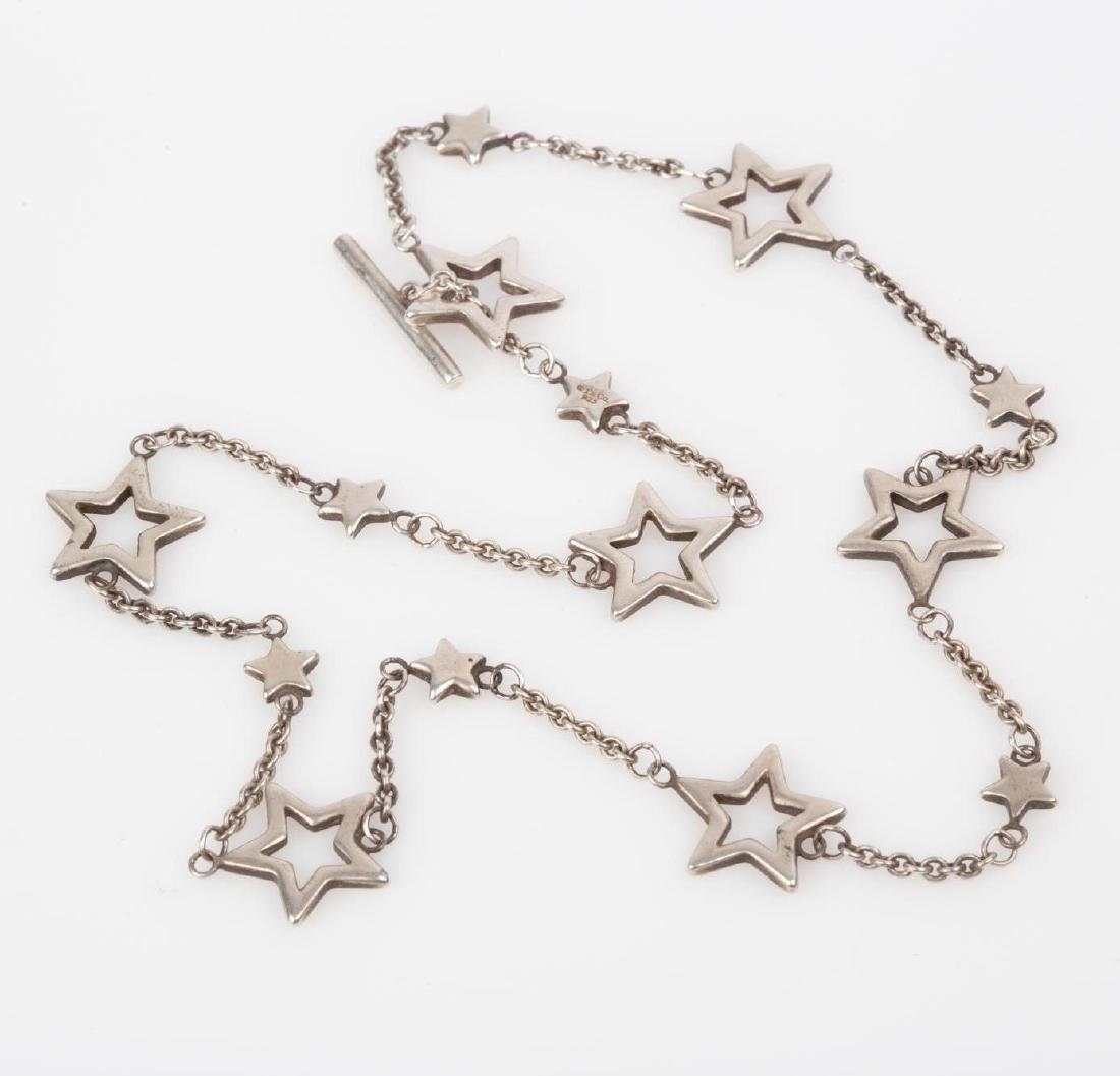 de9edce2d For Auction: Tiffany & Co. Sterling Toggle Clasp Star Link Necklace (#3) on  Jul 13, 2019 | Circle Auction in MO