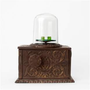 Antique Trade Stimulator 5-Cent Dice Dome