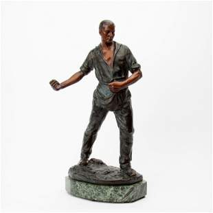 Patinated Bronze, European, Early 20th c.