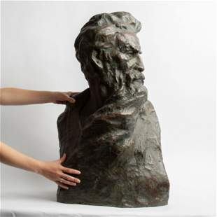 Robert Merrell Gage Large Bronze Bust, John Brown #5/9