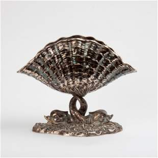 Genazzi for Stupell Shell & Dolphin Bowl, 800 Silver