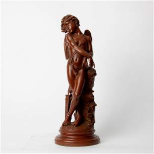Jean Balloni Patinated Bronze Cupid
