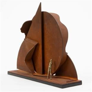 Ernest Tino Trova 'Profile Canto' Sculpture