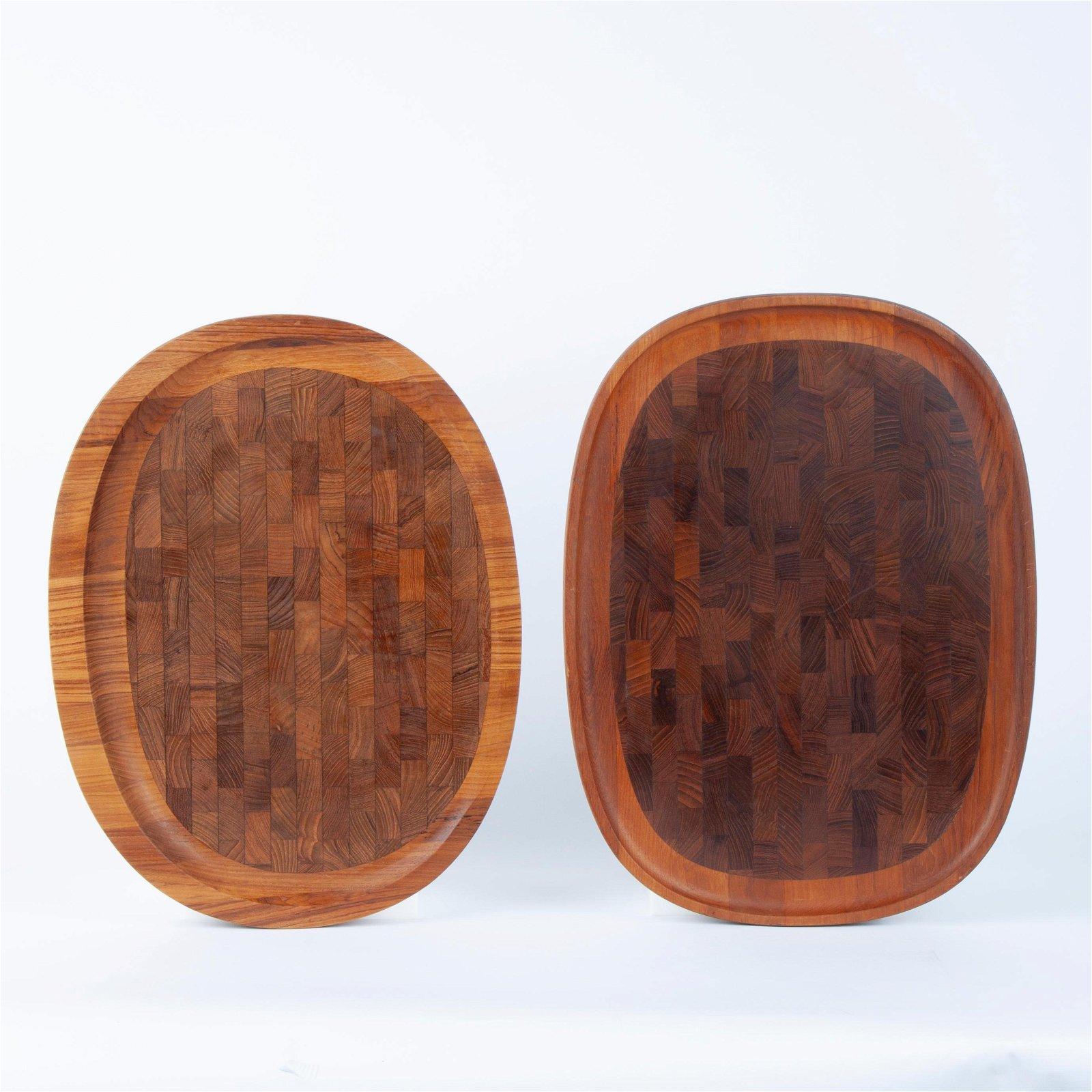 Jens Quistgaard for Dansk: Two Platters