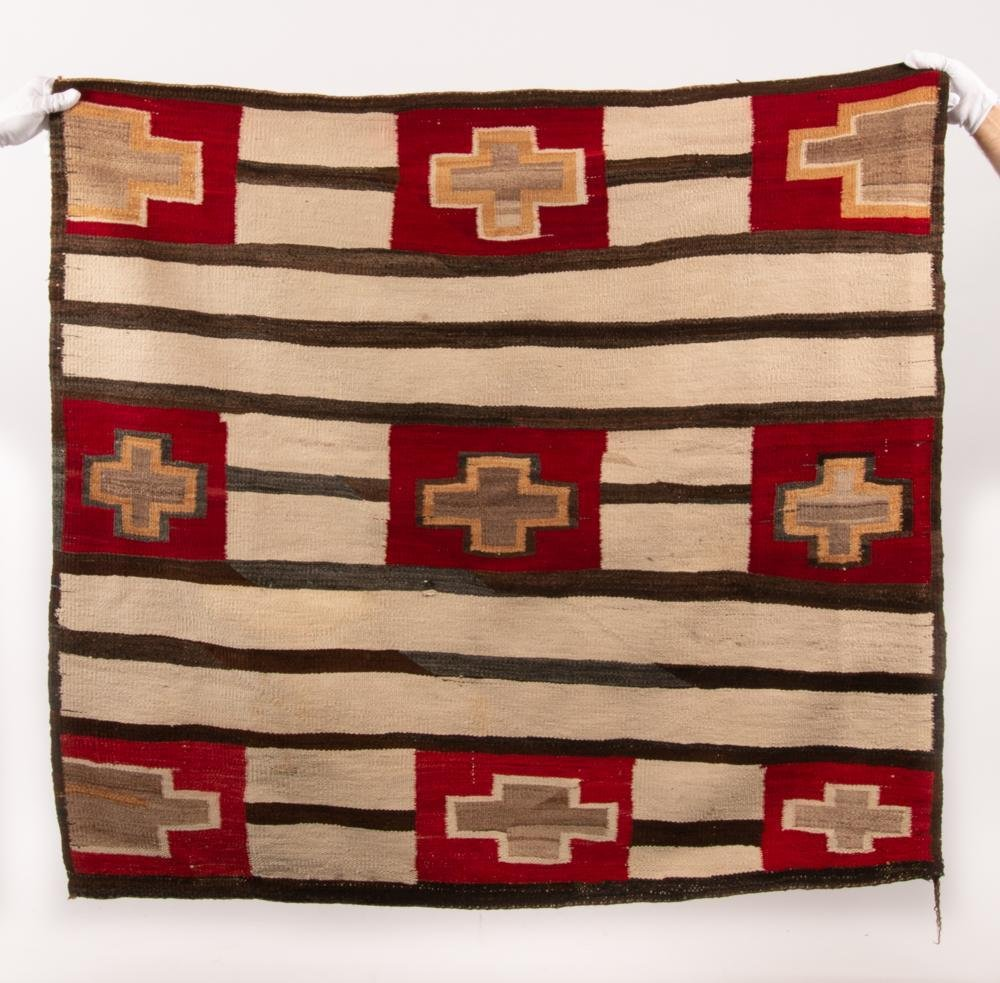 Navajo Second Phase Chief's Blanket, 19th c.