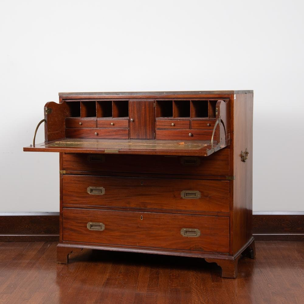 19th c. English Officer's Campaign Secretary Bureau