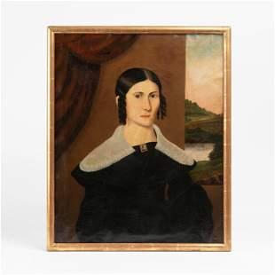 Portrait of Lorenda Langdon Snow, ca. 1815