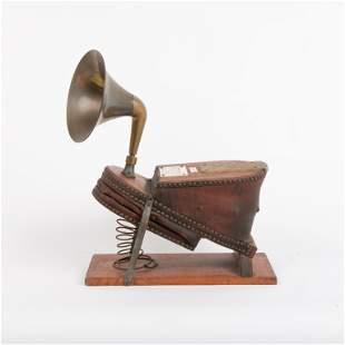 Antique Air Bellows Fog Horn