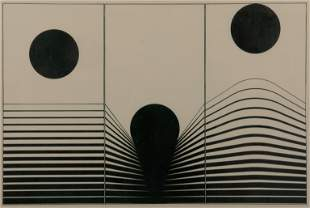 MARCELLO MORANDINI / Urto Elastico (1964)