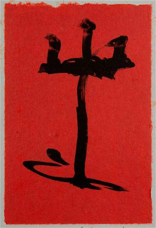 ROBERT MOTHERWELL / Gypsy Curse (1983)