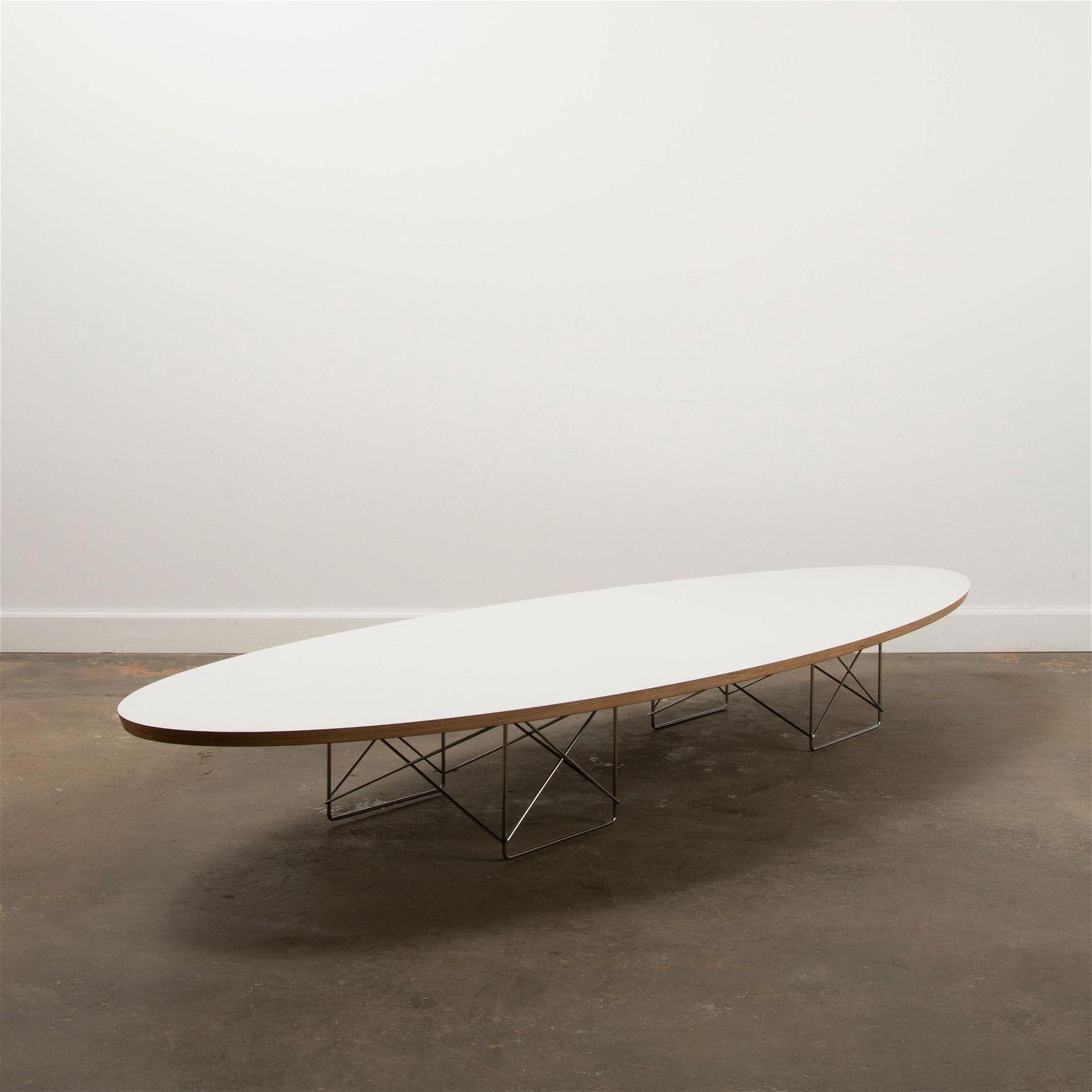 CHARLES & RAY EAMES / Herman Miller ETR Surfboard Table