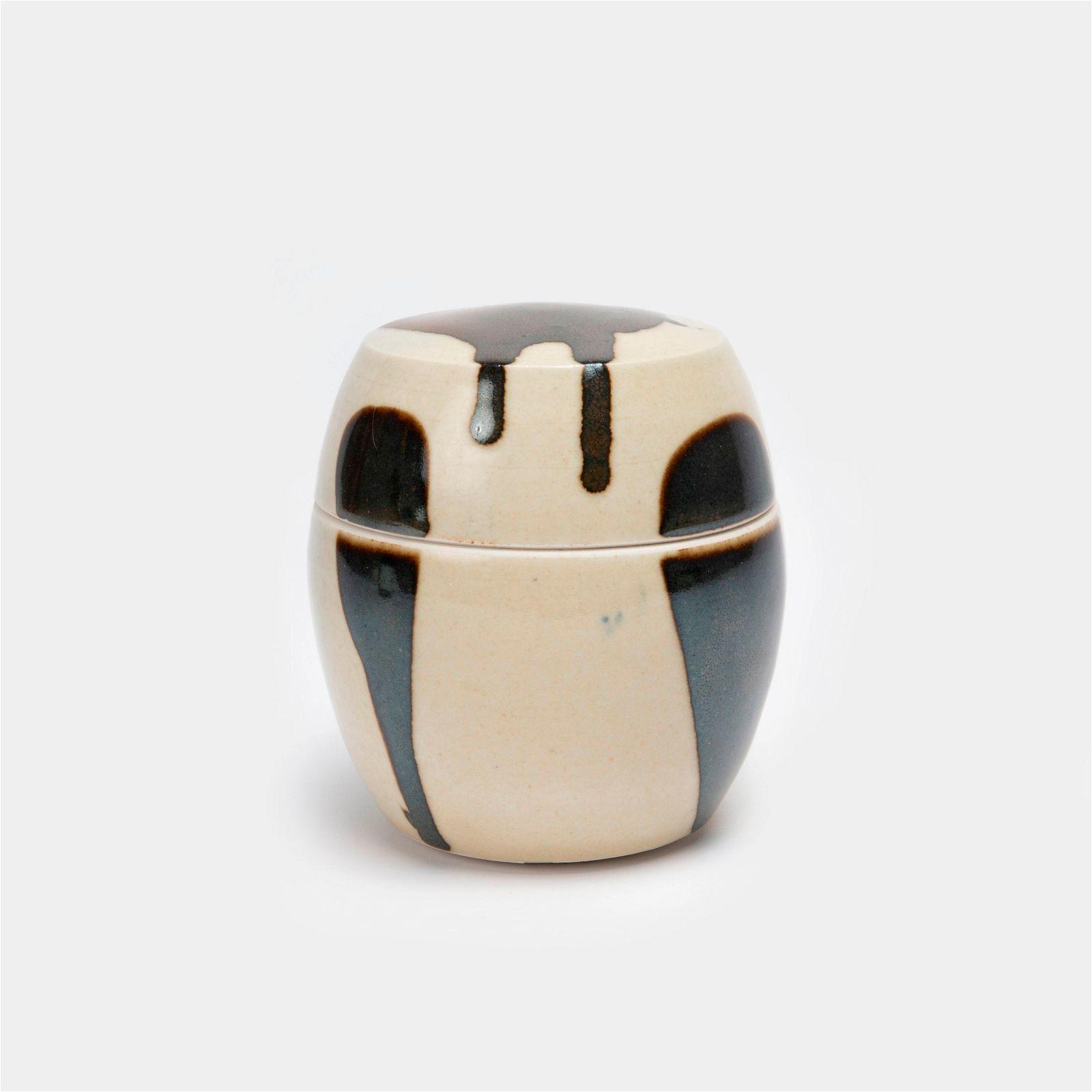 KEN FERGUSON / Porcelain Jar (1960s)