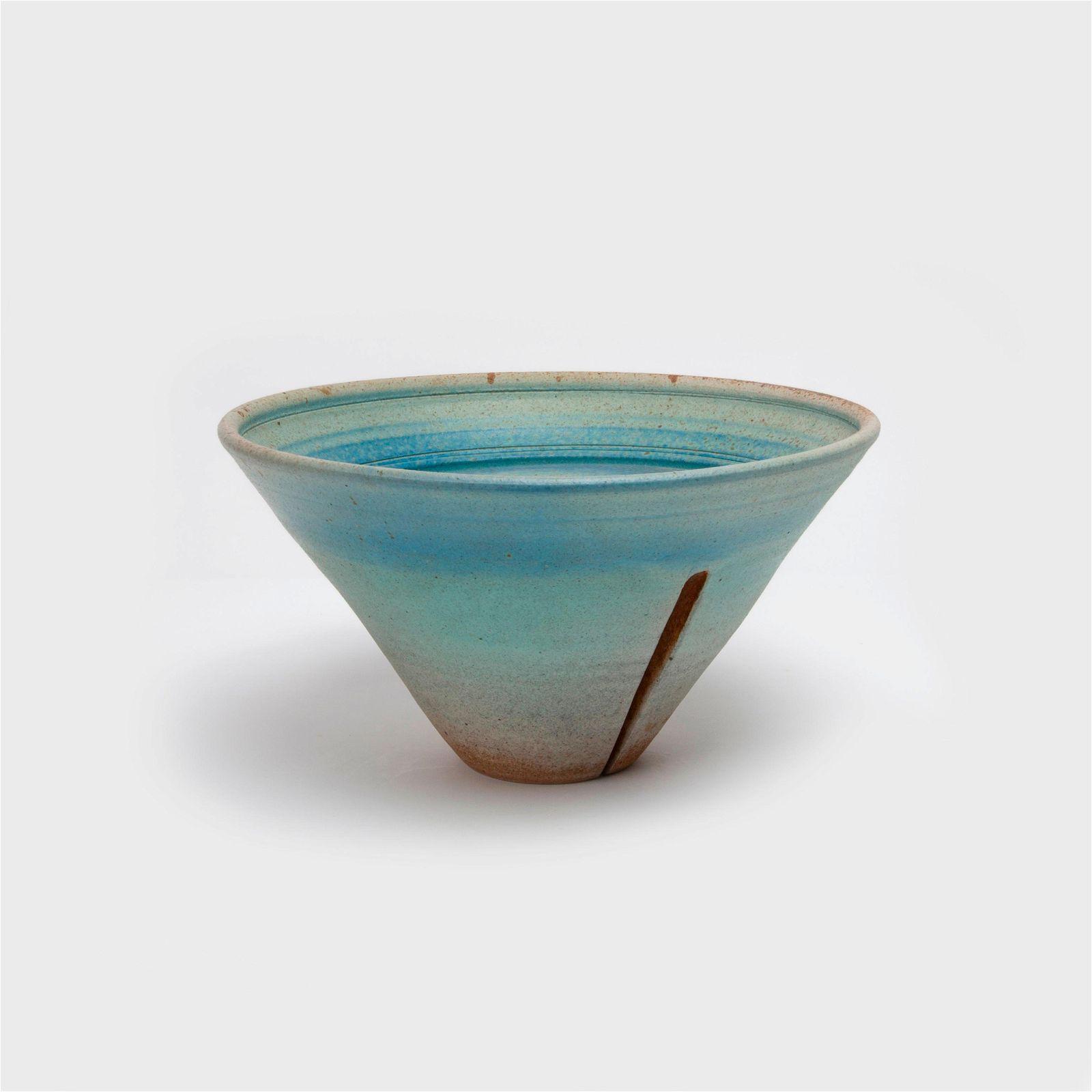 KAREN KARNES / Inverted Conical Bowl (1980s)
