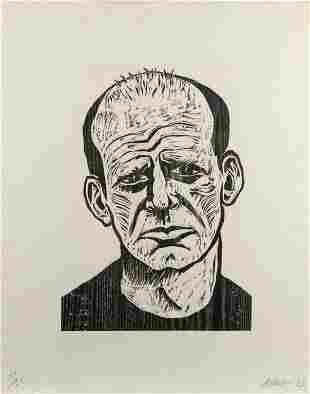 ROBERT ARNESON / Jackson Pollock (1983)
