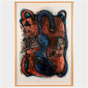 ELIZABETH MURRAY / Blue Body (1986-87)