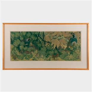 JANET TURNER / Quails Amid Wild Grapes II (1966)