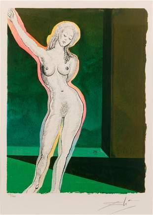 SALVADOR DALI / Brave Cecile (1969)