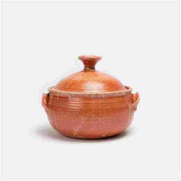 KEN FERGUSON / Stoneware Covered Dish (1960s)