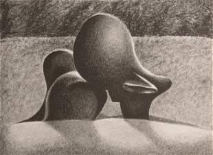 CATHERINE MASSARO / Sheep Piece (after Henry Moore)