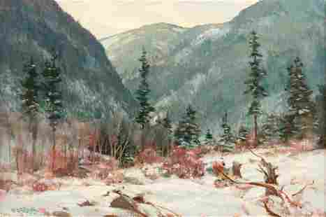 Paul Strisik 'Early Winter' Oil on Canvas