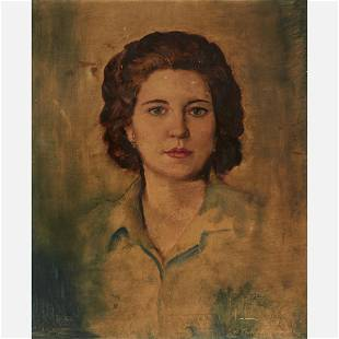 John William Orth (1889-1976) Oil Portrait (1939)