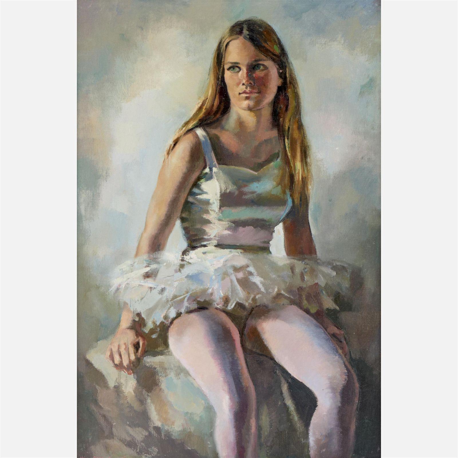 Mary Sarg Murphy (1911-1986) Oil on Canvas