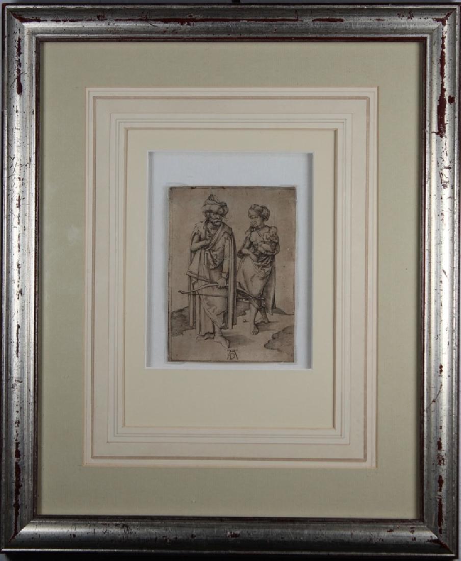"Albrecht Durer (1471 - 1528) ""Turkish Family"""