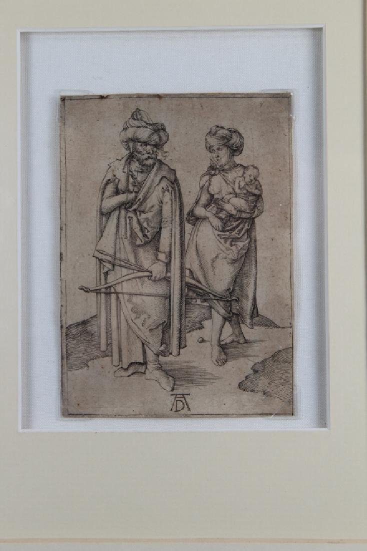 "Albrecht Durer (1471 - 1528) ""Turkish Family"" - 2"