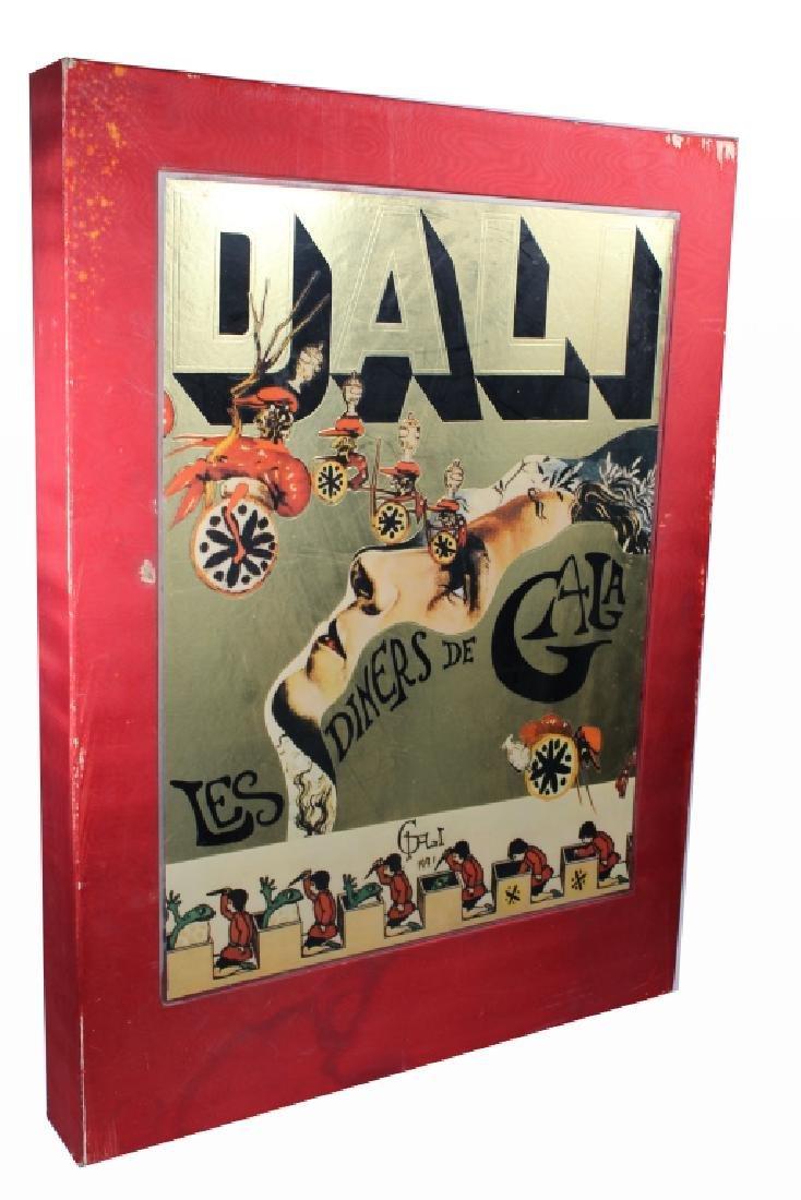 """Rare Salvador Dali Portfolio, """"Les Diners de Gala"""""""