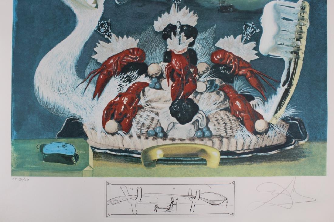 """Rare Salvador Dali Portfolio, """"Les Diners de Gala"""" - 7"""