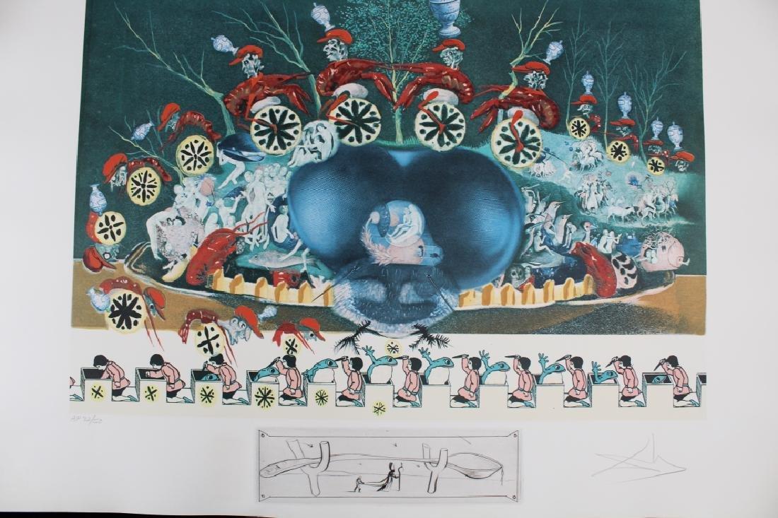 """Rare Salvador Dali Portfolio, """"Les Diners de Gala"""" - 9"""