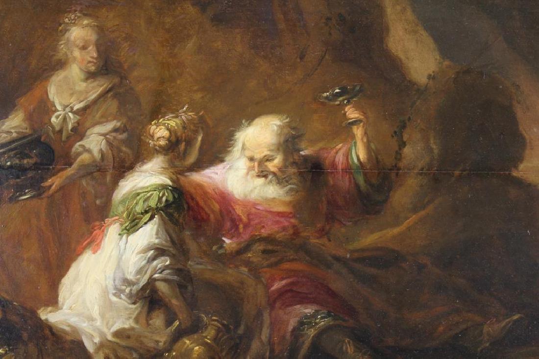 Matthias Scheits (1640 - 1700) Lot & His Daughters - 2