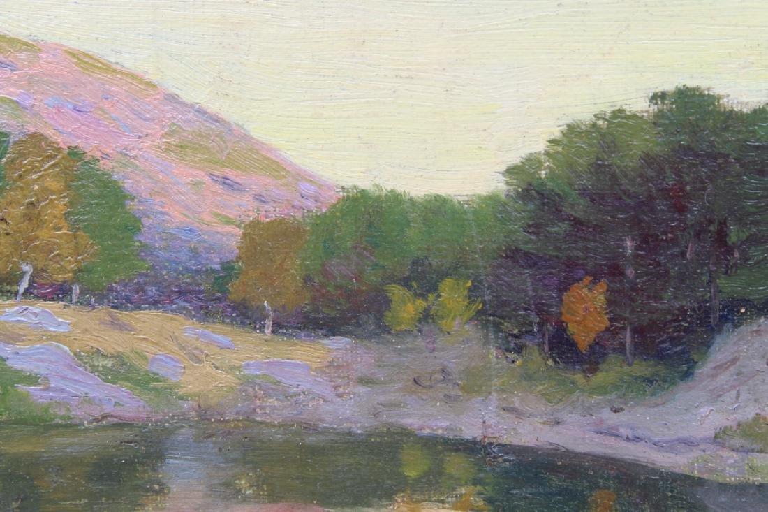 American School Autumnal River Landscape - 2
