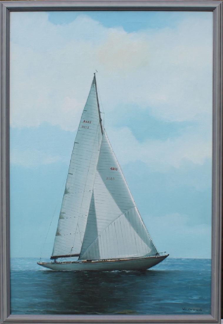 W.L. Fredericks Yacht Portrait