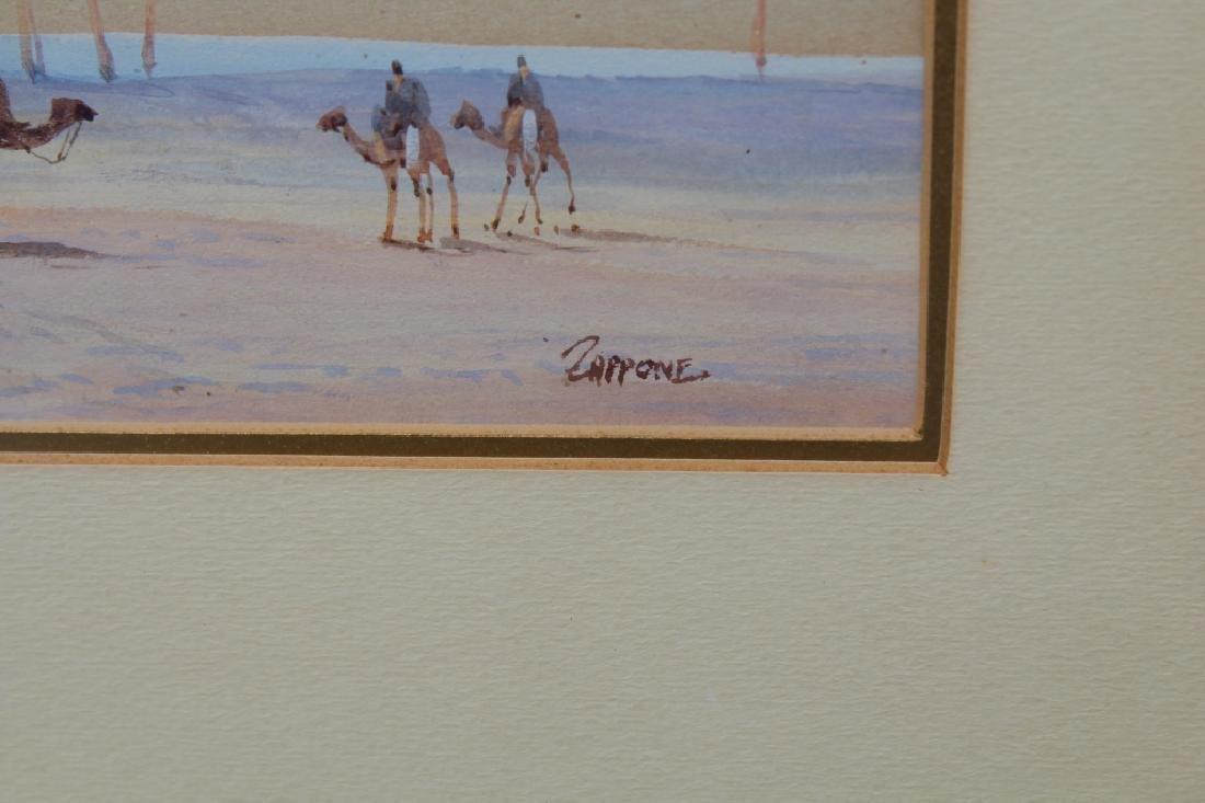 Antique Orientalist Pastel, Signed - 3