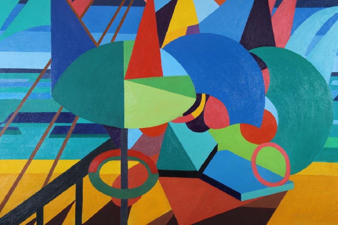 "Ena Whitcomb, ""Mediterranean Beach"" 1973 - 2"