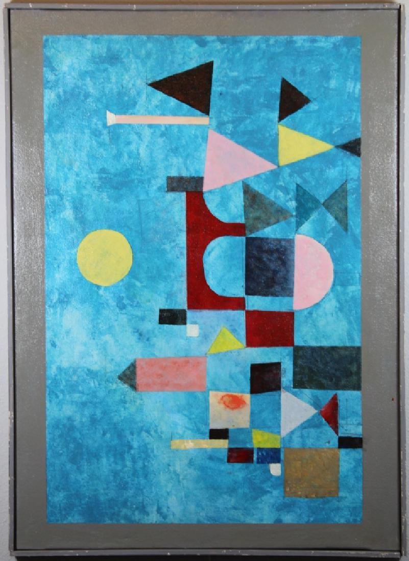 Vintage Abstract Geometric Composition